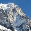 Massif du mont blanc — Stock Photo