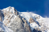 The Mont Blanc chain — Stock Photo