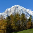 Stock Photo: Mont Blanc - Slope Italian