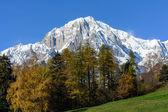 The Mont Blanc - Slope Italian — Stock Photo