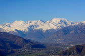 The Susa Valley and Italian Alps bordering France - Piedmont - North Italy — Stock Photo