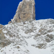Giant's Tooth - 4,014 meters - Valle d'Aosta — Stock Photo #39107523