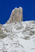 Giant's Tooth - 4,014 meters - Valle d'Aosta — Stock Photo