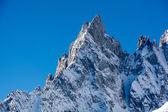 Aiguille Noire de Peuterey - 3773 m.a.s.l. Mont Blanc — Stock Photo
