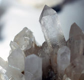 Smoky Quartz Crystals — Stockfoto