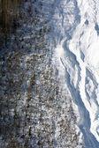 Lavina v horách — Stock fotografie