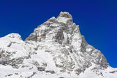 Mount Matterhorn in winter - 4,478 m.s.l.m. — Stock Photo