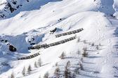 Snowslides protection — Stock fotografie