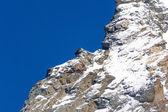 Glaciers of Monte Rosa — Stock Photo