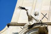 Facciata della Cattedrale — Foto Stock
