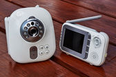 Clouse-up baby monitor — Stock Photo