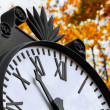 Stockfoto: Clouseup clock