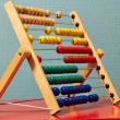 Colourful Beaded Abacus — Stock Photo