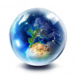 Drop globe - Europe — Stock Photo #33748251