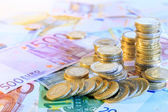 Euro currency background — Stock Photo