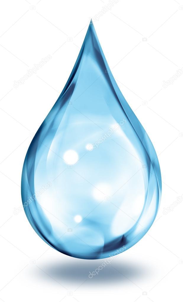 капля воды картинка