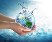 Water conservation in the our planet - Usa — Stock Photo