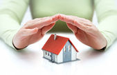 Protect and insurance real estate concept — Stock Photo