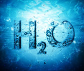 Water formula — Stock Photo