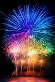 Pyrotechnics explosion — Stock Photo