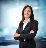 Secretary in office — Stock Photo