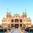 Art Nouveau Style building Stabilimento Balneare from the early 20th century at the Beach of Mondello near Palermo in Sicily, Italy — Stock Photo #29972953