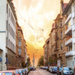 Streets of Stuttgart — Stock Photo
