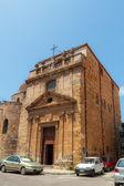 Velha igreja siciliano em palermo — Fotografia Stock