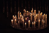 Candles in a Church — 图库照片
