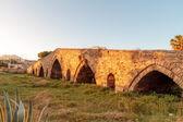 Medieval Historical Bridge Ponte dell Ammiraglio in Sicily, Palermo — Stock Photo