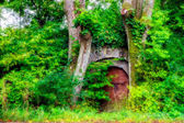 Old Cellar in the Woods in Bavarian Germany — Stock Photo