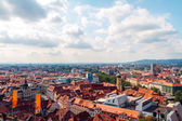 Roofs of Graz — Stock Photo