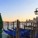 Lagoon of Venice with View on San Giorgio — Stock Photo