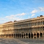 Постер, плакат: Worlds most beautiful square Piazza San Marco