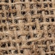 Grid Texture of a Potato Sack — Stock Photo
