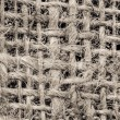 Stock Photo: Grid Texture of a Potato Sack