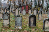 Cimitero ebraico — Foto Stock