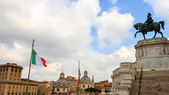 Monumento Vittorio Emanuele II — Stock Photo
