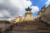 Monumento Vittorio Emanuele II — Stock Photo