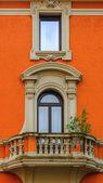 Roman House Facade — Stockfoto