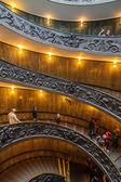 Vaticaan spiraal trap — Stok fotoğraf