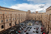 Vatican Parking Lot — Stock Photo