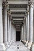 Prachtige peristylium — Stockfoto