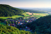 Bavarian Rural Countryside Landscape — Stock Photo