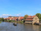 The port of Bamberg — Stock Photo