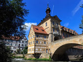 Bamberg City Hall — Stock Photo