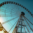 Rimini's ferris wheel — Stock Photo