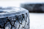 The old tire. — Stock Photo