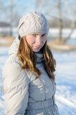 Winterwanderung. — Stockfoto