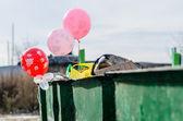 Utilization of balloons. — Stock Photo